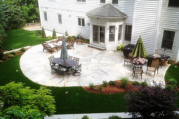 Landscaping services home